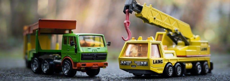 Voitures et camions