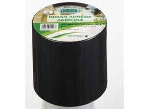 Répare bâche ensilage noir 100 mm x 20 m