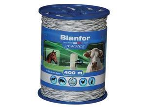 Fil Blanfor 400m pour clôture semi-permanente