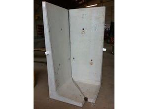 Plaque silo en T angle 2x0,95 m
