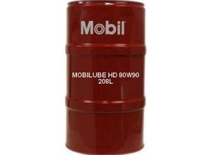 HUILE MINERALE MOBILUBE HD 80W90 - 208L