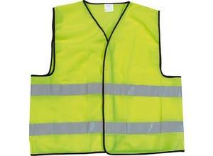 Gilet de sécurité jaune EN471