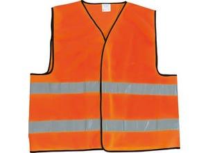 Gilet de sécurité orange EN471