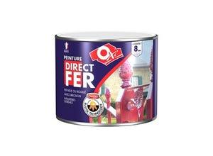 Peinture Direct Fer Lisse 1.5L Noir Mat