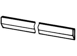 Mise de soc non traite 550x60x10 mm