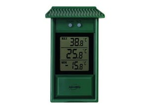 Thermomètre mini/maxi digital vert