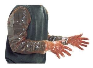 Gant polyéthylène 5 doigts (x100)
