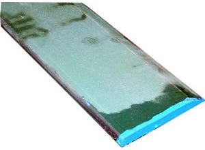 Lame acier biseauté forgé 2000x12x110 250HB