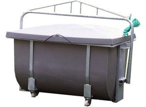 Bac équarrissage porcin 600 litres