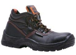 Chaussures de sécurité hautes Miami noir