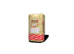 Vrac à épandre laine de roche Le Flocon 2 (sac de 25Kg)