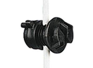 Isolateur écrou noir 4-10 mm (x20)