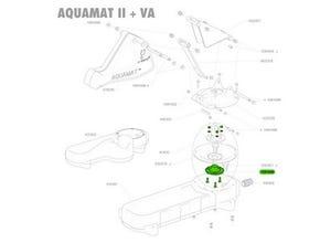 Plateau de membrane Aquamat avec boulons