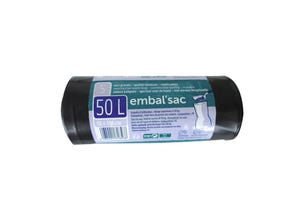 Sacs poubelle 50L gravats (x5)