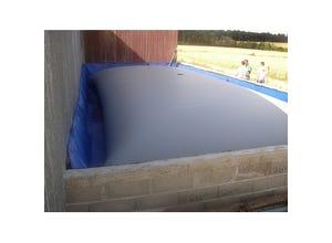 Citerne souple engrais liquide 90m3