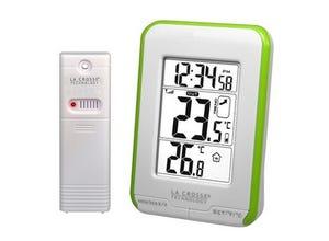 Station de températures WS6810 verte