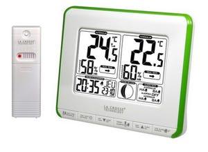 Thermomètre/Hygromètre Lune vert WS6812
