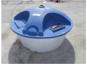 Bac libre-service 1000 litres
