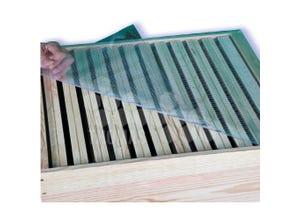 Plateau couvre-cadres PVC Dadant 10 c