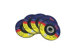 Jeu de 5 disques Ø115mm pour le fer