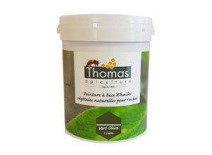 Peinture base végétale Vert olive 1 L