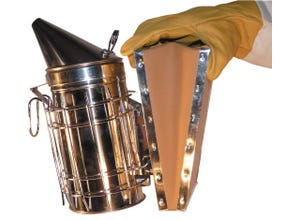 Enfumoir inox type américain 250 mm