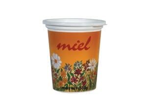 Pot plastique opaque Champêtre 500 g
