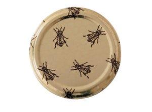 Capsule TO82 alvéolée abeilles (x 740)
