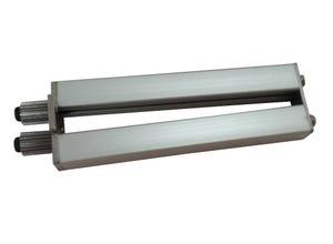 Roulette zig-zag aluminium pro