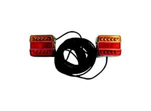 Kit signalisation arrière LED magnétique 12m