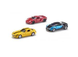Coffret cadeau 3 voitures de sport