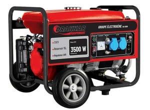 Groupe électrogène essence 3500W 7,5CV