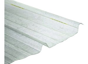 Plaque polyester incolore cl4 novobac 2m50
