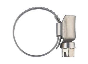 Collier de serrage inox larg.12 mm Ø25 à 40 (x10)