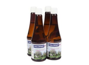 CALCIPART  K+ 4 Flacons de 500ML