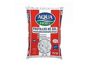 Sel adoucisseur Aqua Excell 25 kg