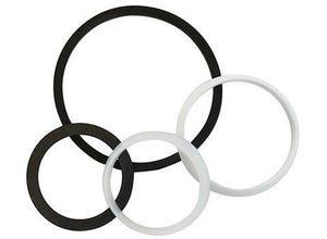 Assortiment joints de siphon en plastique 4 pièces Ø40