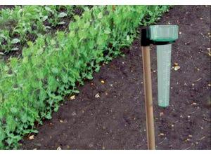 Pluviomètre PLUVIO vert 33 mm