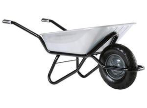 Brouette Clipso excellium galva roue gonflée 100L
