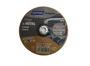 Disque à tronçonner métal 230x3,2x22,2