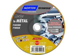 Disque à ébarber le métal 230x6,5x22,2