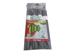 Sacs poubelle 100L 4 x 10 sacs