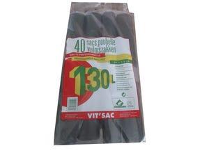Sacs poubelle 130L 4 x 10 sacs