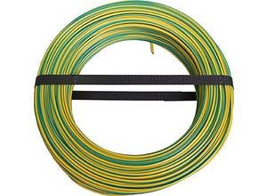Câble H07 VU 1,5mm vert/jaune 100m