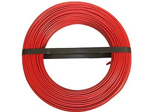 Câble H07 VU 2,5mm rouge 100m