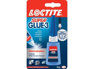 Colle SUPER GLUE-3 Professionnel 20 g