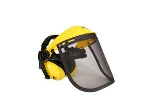 Visiere grillagée + protège oreilles