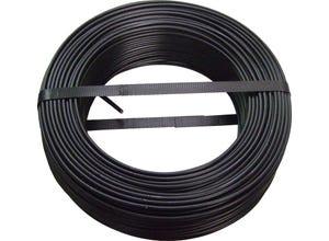 Câble H07 VU 2,5mm noir 100m