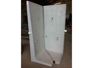 Plaque silo L Angle 1M