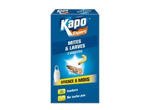 Cassettes anti mites/larves x2